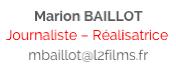 Marion BAILLOT